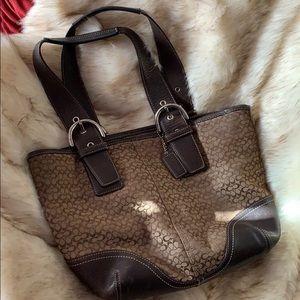 Gently used genuine coach purse